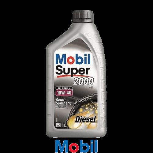 MOBIL SUPER 2000 X1 DIESEL 10W-40 1л.