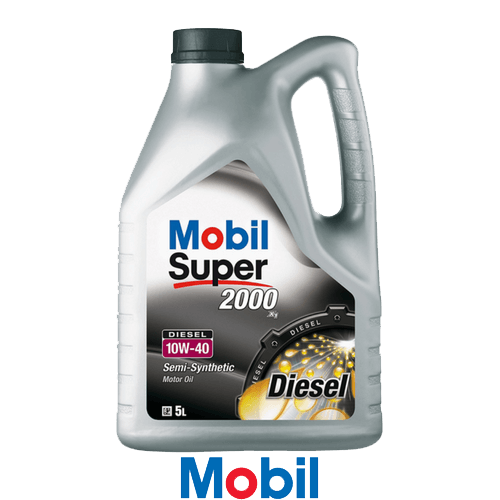 MOBIL SUPER 2000 X1 DIESEL 10W-40 5л.