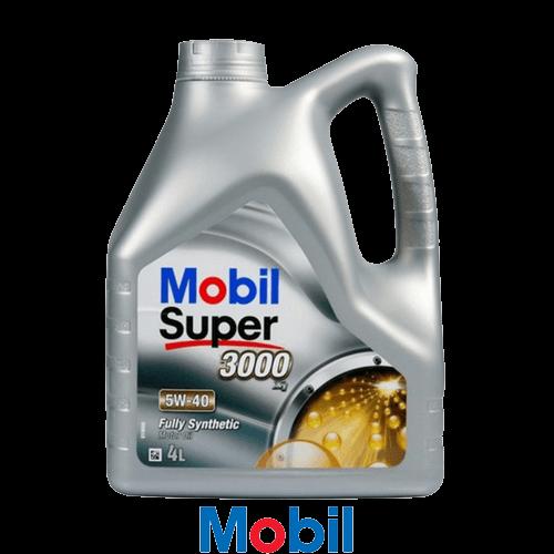 MOBIL SUPER 3000 X1 5W-40 4л.