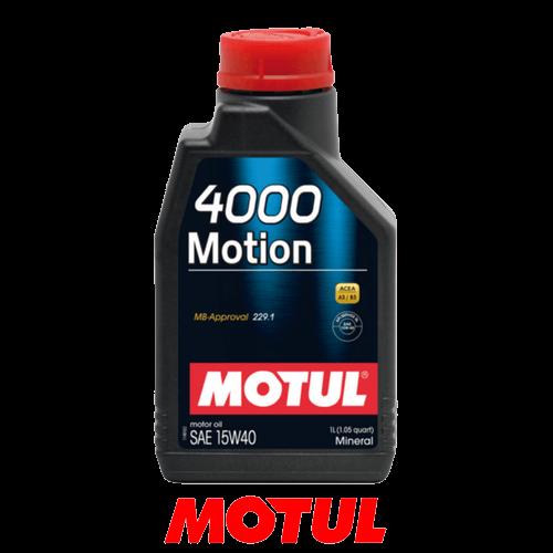 MOTUL 4000 MOTION 15W-40 1л.