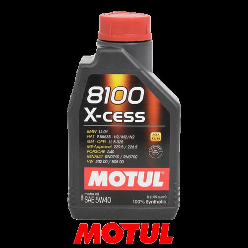 MOTUL 8100 X-CESS 5W-40 1л.