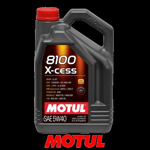 MOTUL 8100 X-CESS 5W-40 5л.