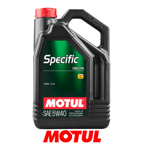 MOTUL SPECIFIC CNG/LPG 5W-40 5л.