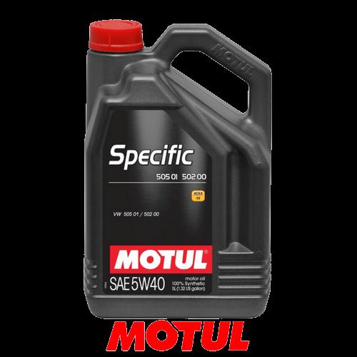 MOTUL SPECIFIC 505.01/502.00 5W-40 5л.