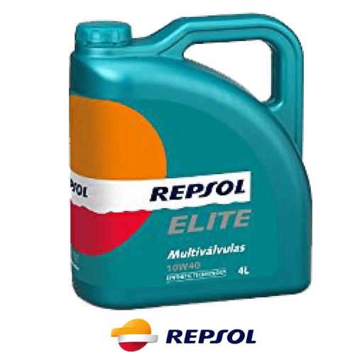 REPSOL ELITE MULTIVALVULAS 10W-40 4л.