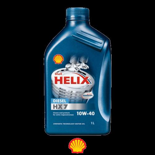 SHELL HELIX HX7 DIESEL 10W-40 1л.