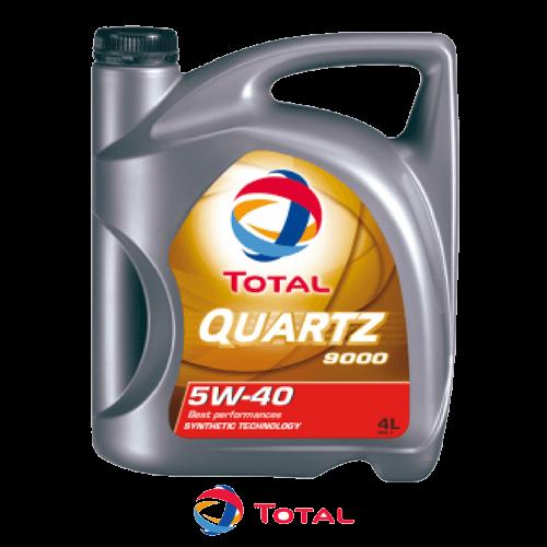 TOTAL QUARTZ 9000 5W-40 4л.