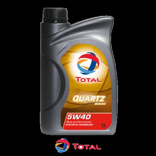TOTAL QUARTZ 9000 5W-40 1л.