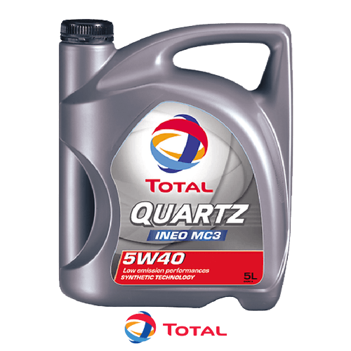 TOTAL QUARTZ INEO MC3 5W-40 5л.