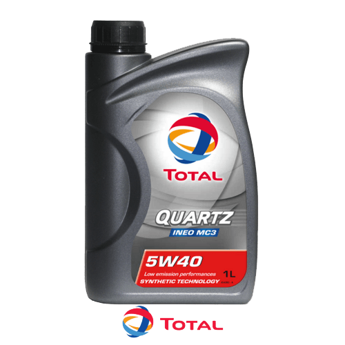 TOTAL QUARTZ INEO MC3 5W-40 1л.