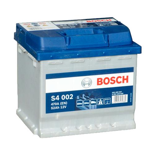 BOSCH SILVER S4 52Ah 470A R+