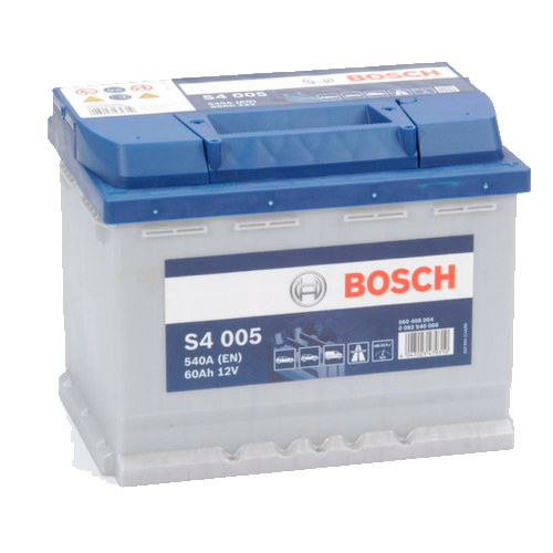 BOSCH SILVER S4 60Ah 540A R+