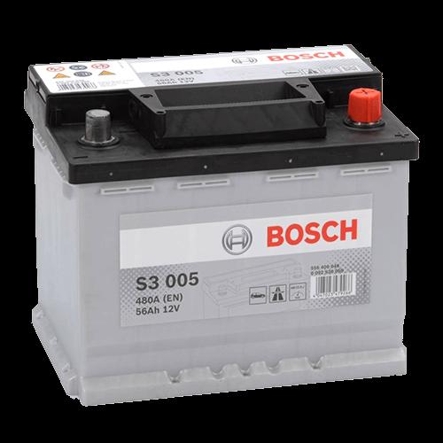 BOSCH SILVER S3 56Ah 480A R+