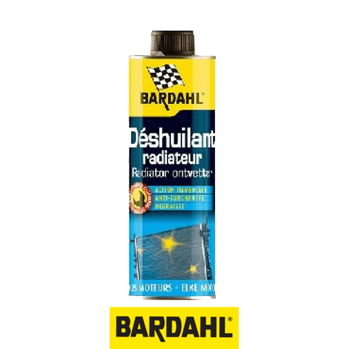 BARDAHL Препарат обезмаслител за радиатори 500 мл.