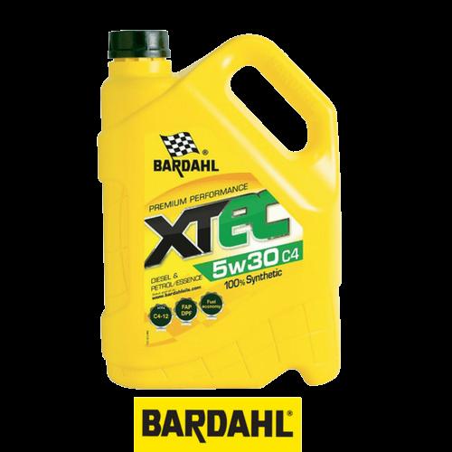 BARDAHL XTEC 5W-30 C4 5 л.