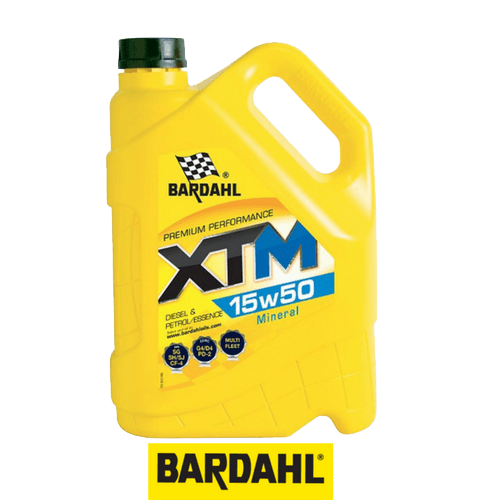 BARDAHL XTM 15W-50 5 л.