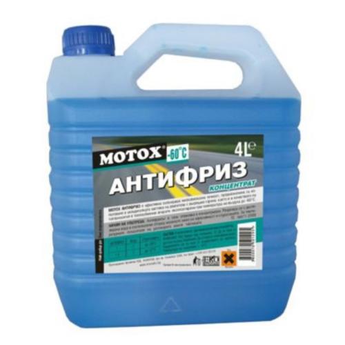 MOTOX антифриз син концентрат 4л.-60C