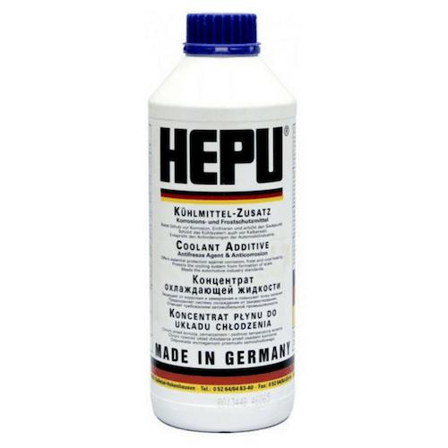 HEPU P999 1.5 л. антифриз син концентрат