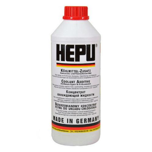 HEPU P999-G12 1.5 л. антифриз червен концентрат